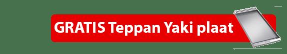 "Smeg C9GMNNLK9-1 gasfornuis ACTIE met gratis Smeg ""TBX6090"" Teppanyaki grillplaat"