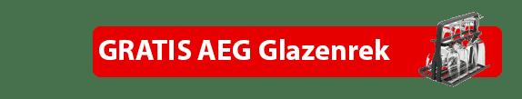 "AEG FSE63717P volledig integreerbare vaatwasser ACTIE met gratis AEG glazenrek ""A9SZGB01"""