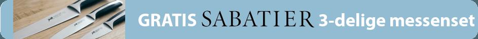 Sabatier Messenset Actie