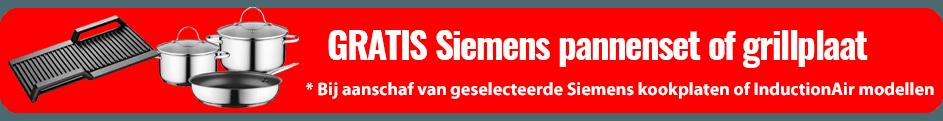 Siemens StudioLine Pannenset Actie