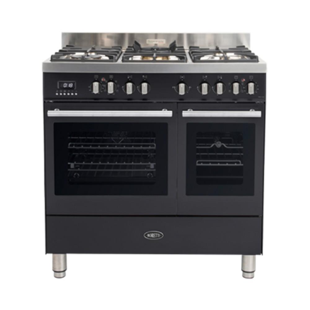 Boretti MFBG902AN gasfornuis Milano met 2 ovens en Dual Fuel...