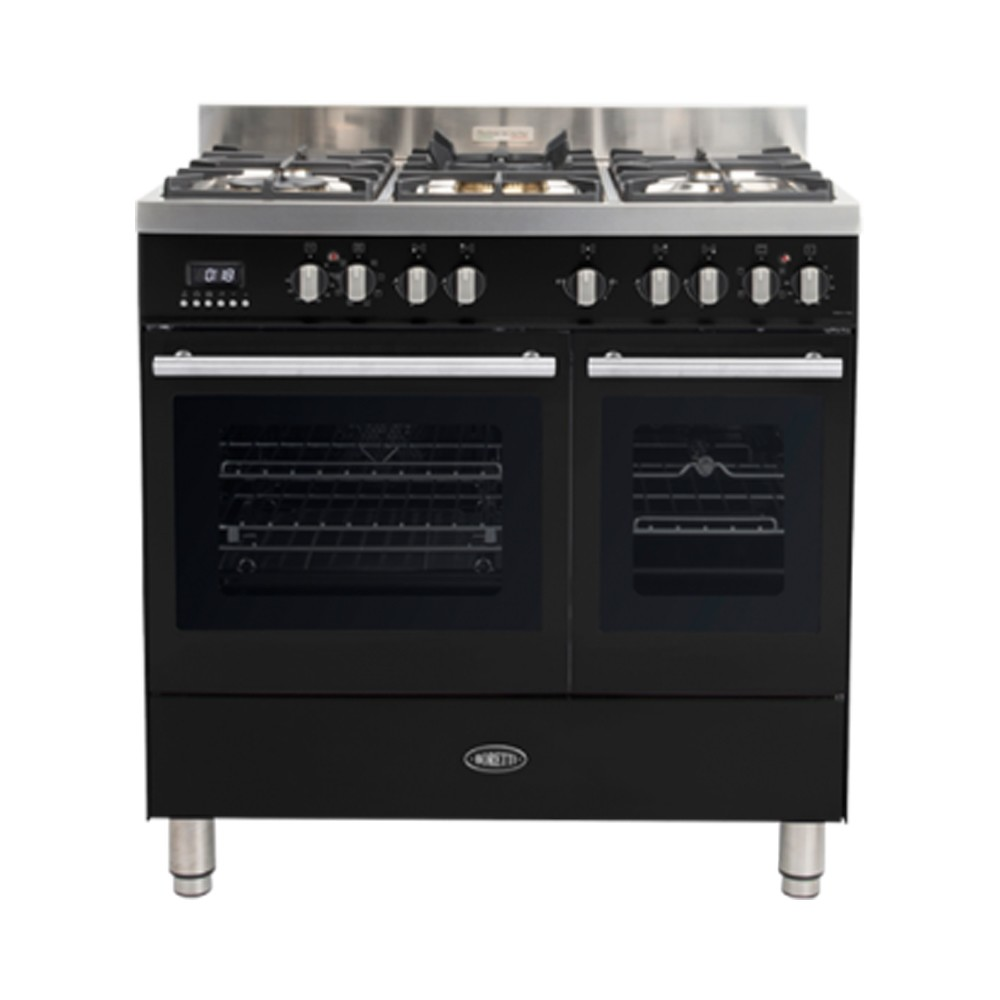 Boretti MFBG902ZW gasfornuis Milano met 2 ovens en Dual Fuel...