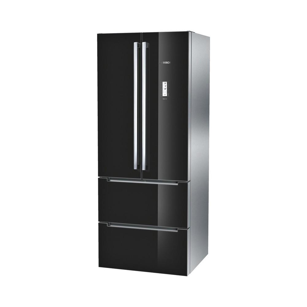 Bosch KMF40SB20 glas-zwart Koelvriescombinatie
