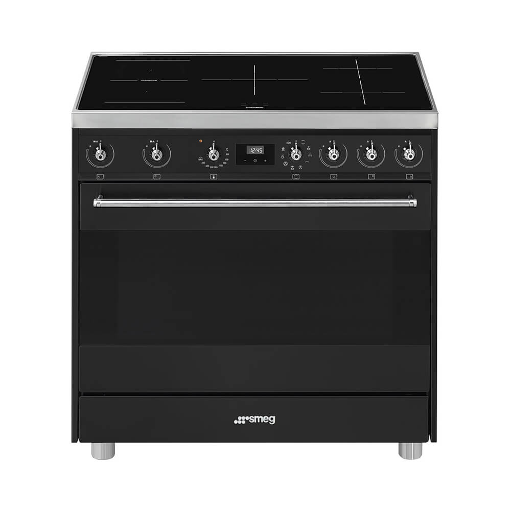 Smeg C9IMAN9 inductiefornuis met 5 inductiezones en 9 ovenfuncties