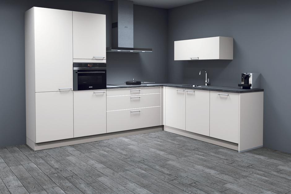 Moderne keuken AANBIEDING met Siemens apparatuur