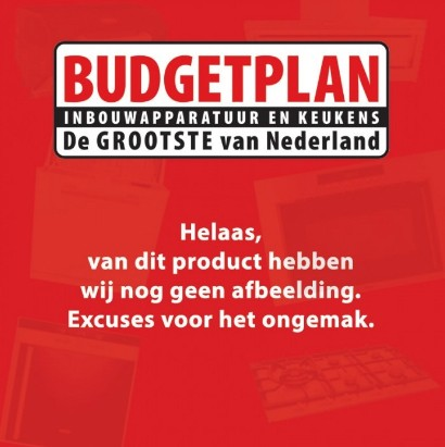 Boretti VPE64ZW keramisch fornuis Budgetplan Keukens