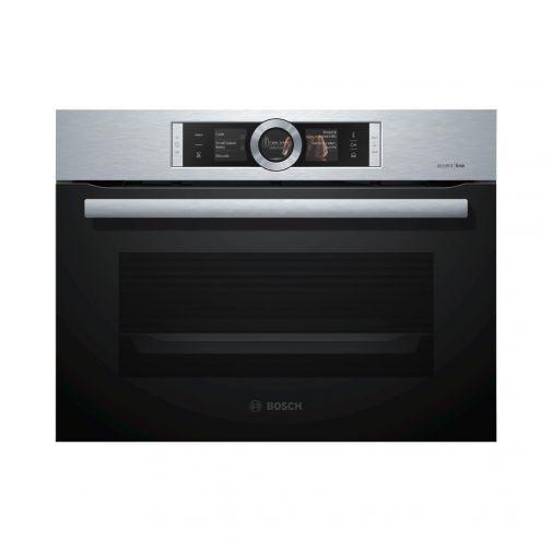 Bosch CSG856NS2 inbouw oven restant model met AddedSteam en EcoClean