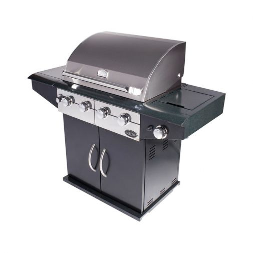 Boretti DaVinci Nero outdoorkitchen gas BBQ