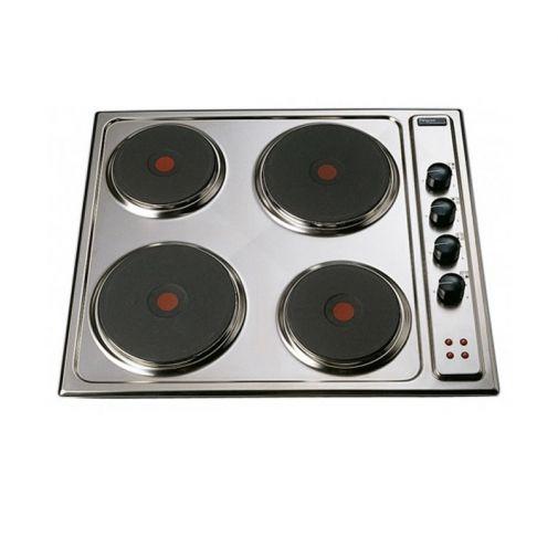 Pelgrim EKB550RVS elektrische inbouw kookplaat