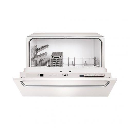 AEG F55200VI0 volledig integreerbare compacte vaatwasser
