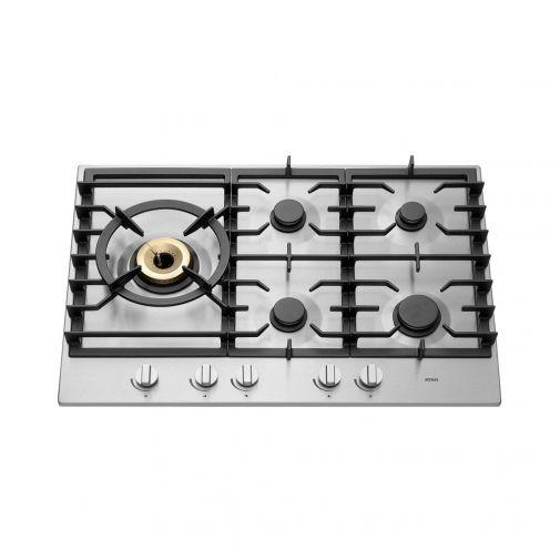 Atag-HG7511EBA-inbouw-gaskookplaat-met-Supervario-Wokbrander