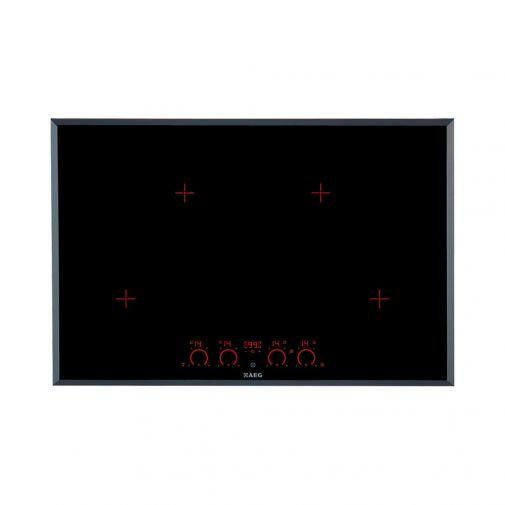 AEG HK874400FB inbouw inductie kookplaat met GRATIS luxe AEG pannenset