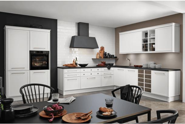 Nieuw klassieke keuken Nolte met karakter