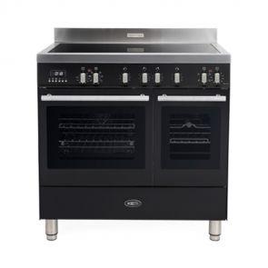 Boretti-MFBI902AN-Milano-inductiefornuis-met-2-ovens-en-Booster-kookzones