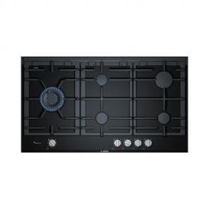 Bosch-PRS9A6L70N-inbouw-gaskookplaat-glaskeramisch-met-FlameSelect-en-wokbrander