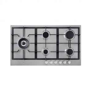 Etna-KGF889RVSA-inbouw-gaskookplaat-rvs-met-Wokbrander