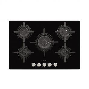 AEG-HG795840NB-inbouw-gas-op-glaskookplaat-met-5-VerticalFlame-zones-en-gietijzeren-pannendragers