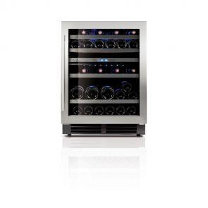 Le-Chai-LB440-onderbouw-wijnkoeler-met-ruimte-voor-44-flessen-en-2-temperatuur-zones