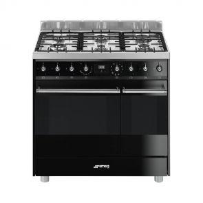 Smeg-C92GMNNLK9-gasfornuis-met-2-ovens-en-vapor-clean-functie