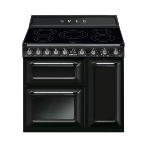 Smeg-TR93IBL-inductiefornuis-zwart-met-2-ovens-en-GRATIS-Smeg-50's-style-waterkoker-en-broodrooster