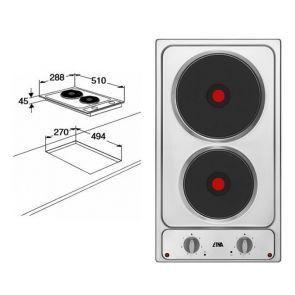Etna-TEK130RVS-inbouw-elektrische-kookplaat