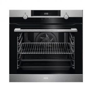 AEG BPK435020M inbouw oven met Pyroluxe® Plus reiniging en vlekvrij RVS