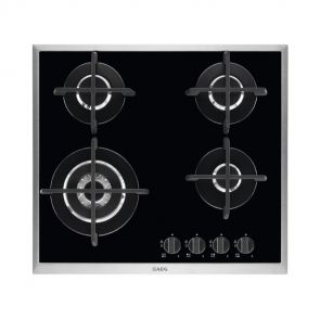 AEG HG694550XB inbouw gas op glaskookplaat