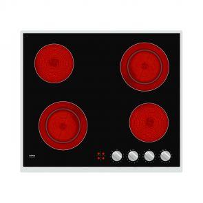 Atag HC6471B inbouw keramische kookplaat met Dubbelkringszone en CookLight elementen