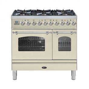 Boretti VPNR946OW gasfornuis met 2 ovens restant model