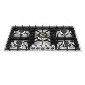 Boretti GK905IX inbouw gaskookplaat