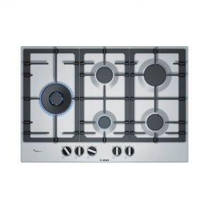 Bosch PCS7A5B90N inbouw gaskookplaat restant model met duo-wokbrander en FlameSelect