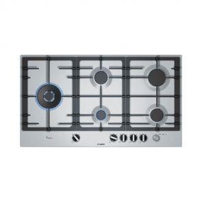 Bosch PCS9A5M90N inbouw gaskookplaat met FrameSelect en Duo-Wokbrander