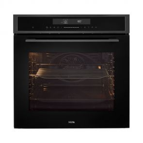 Etna OM670Ti inbouw oven Black Titanium met hetelucht en Touch Control