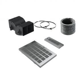Neff Z51AIS0X0 recirculatie startset met flexibele buis, luchtrooster en koolstoffilter