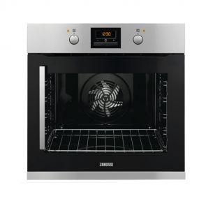 Zanussi ZOB35906XU inbouw oven met rechtsdraaiende deur en Pizzafunctie