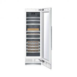 Siemens CI24WP03 inbouw wijnklimaatkast met UV-filter glazen deur