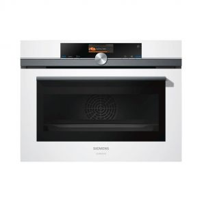 Siemens CS856GDW7S inbouw combi-stoomoven restant model met FullSteam en Home Connect