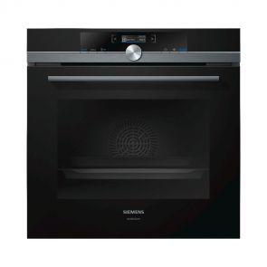 Siemens HB835GTB1 inbouw oven 60 cm hoog met ecoClean en telescooprails