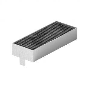 Siemens HZ9VRPD0 recirculatie startset met CleanAir filters voor uitblazen onder de plint/ luchtverspreider bij gedeeltelijk afvoer