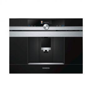 Siemens CT636LES6 inbouw koffiemachine met oneTouch functie en HomeConnect
