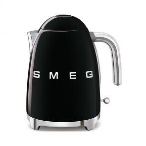 Smeg KLF03BLEU retro 50's style waterkoker, zwart