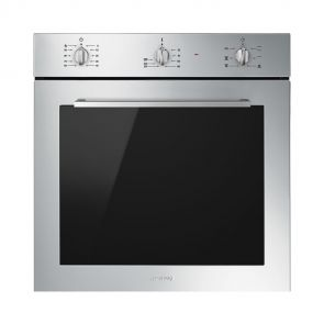 Smeg SF64M3VX Inbouw oven met Ever Clean emaille en 6 ovenfuncties