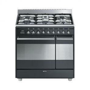 Smeg SNLK926MA9 gasfornuis met 2 ovens