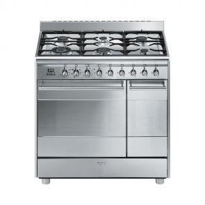 Smeg SNLK926MX9 gasfornuis met 2 ovens