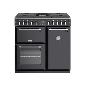 Stoves ST444993 Richmond S900 DF gasfornuis zwart
