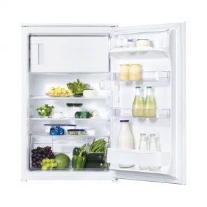 Zanussi ZBA14421SA inbouw koelkast met geïntegreerd vriesvak en sleepdeur montage