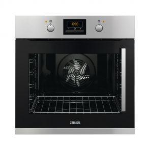 Zanussi ZOB35905XU inbouw oven met linksdraaiende deur en 9 ovenfuncties