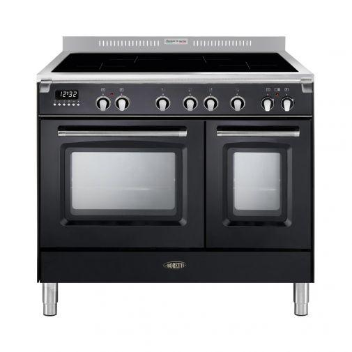 Boretti CFBI902AN inductiefornuis met 4 inductiezones en 2 ovens