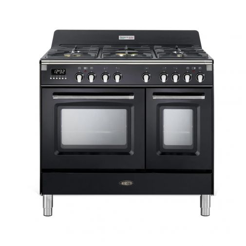 Boretti CFBG902AN gasfornuis met Dual Fuel wokbrander en dubbele oven