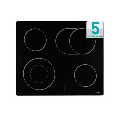 Etna A566ZT keramische kookplaat te gebruiken in combinatie met oven
